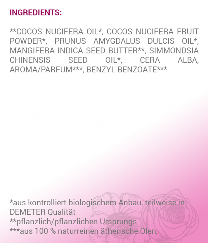 Loslassen Ingredients