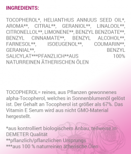 Schutz Ingredients