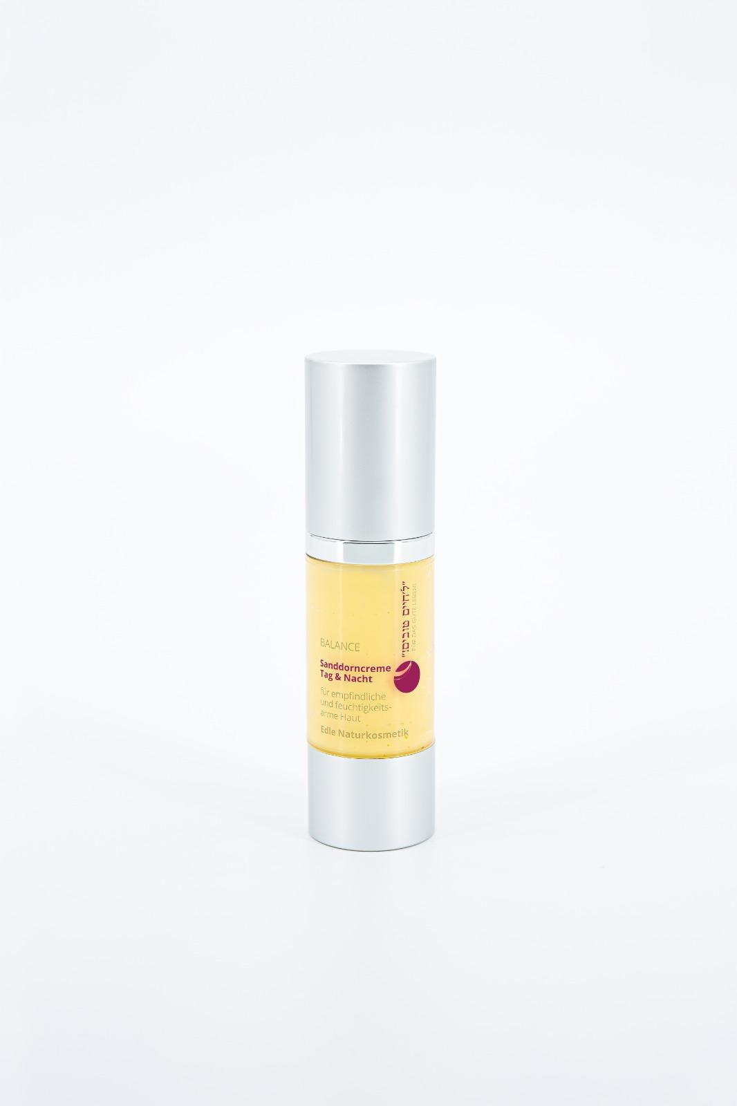 Balance Sanddorncreme für umweltgestresste Haut Tag und Nachtpflege Naturkosmetik fdgl